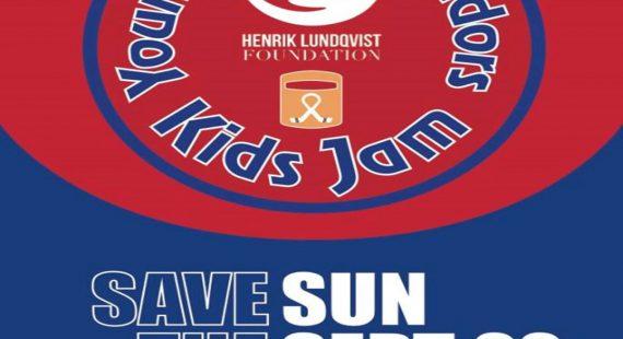 Henrik Lundqvist Foundation Young Ambassadors Kids Jam